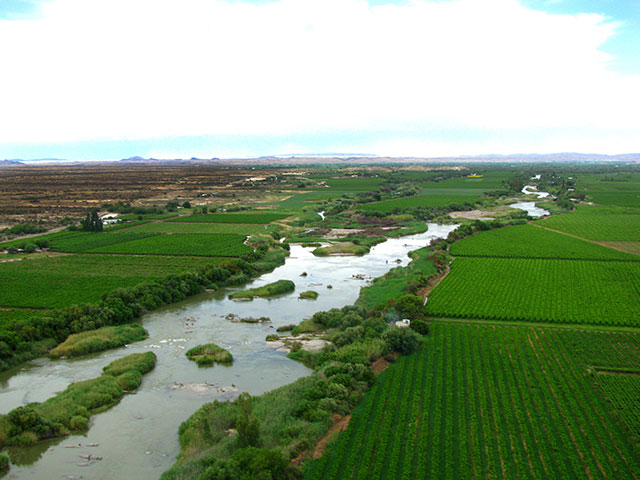 The Mighty Orange River Upington