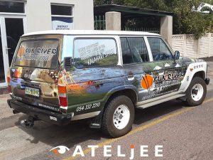 Upington Vehicle Wrap | Web Ateljee | Web Design, Clothing, Engraving & Signs