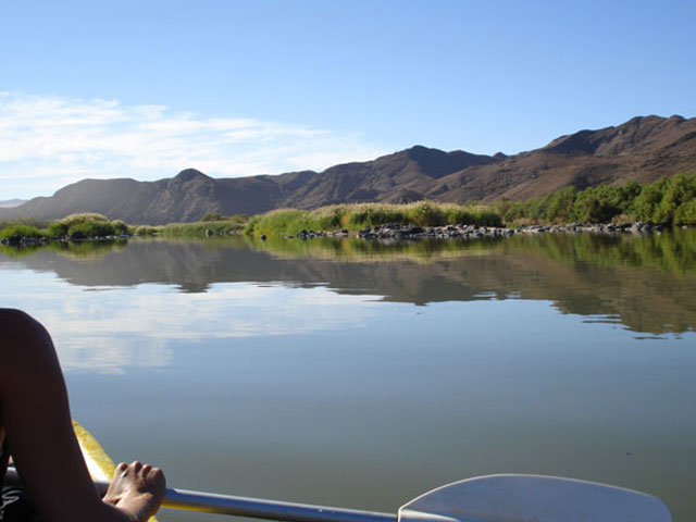Canoeing on the Orange River Upington Activities